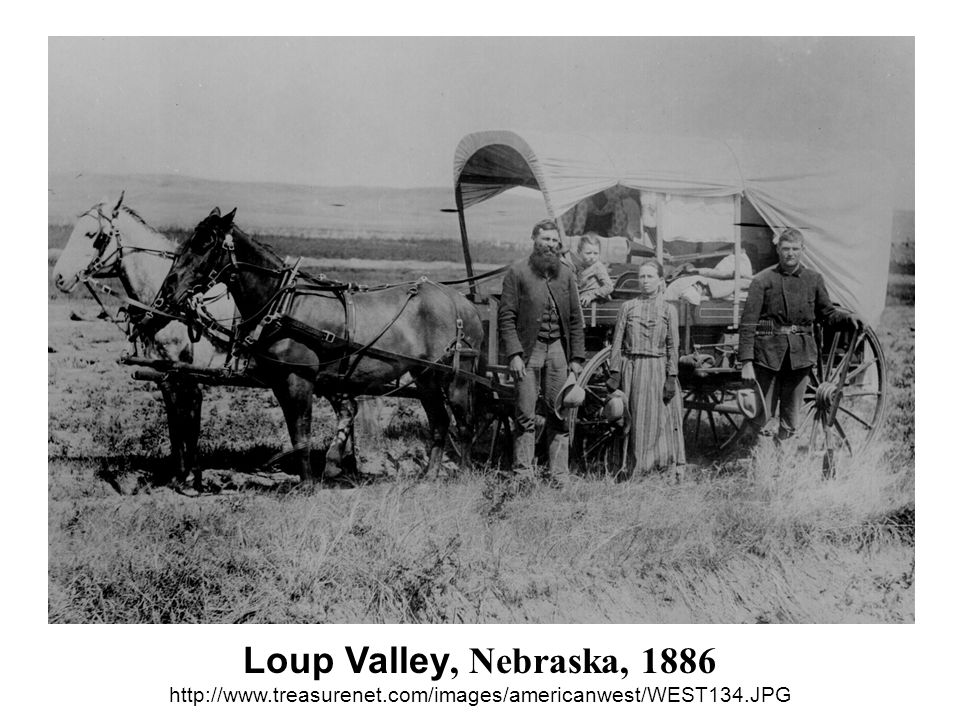 Loup Valley, Nebraska, 1886 http://www. treasurenet