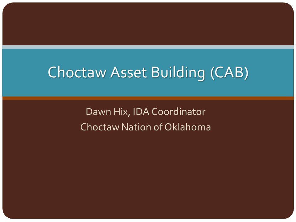 Choctaw Asset Building (CAB)