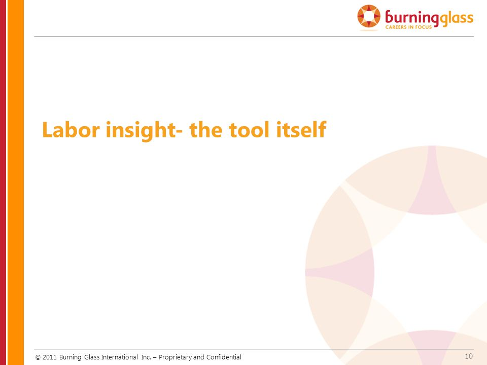 Labor insight- the tool itself