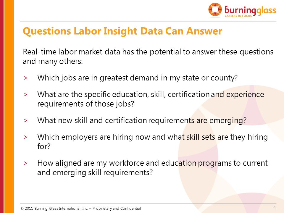 Questions Labor Insight Data Can Answer