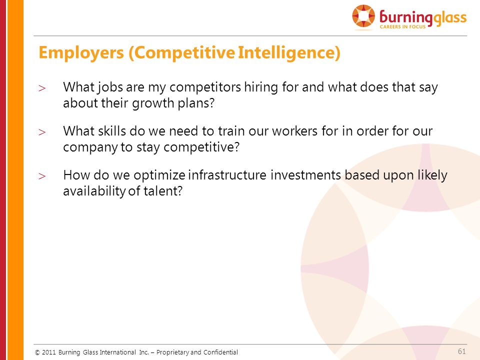 Employers (Competitive Intelligence)