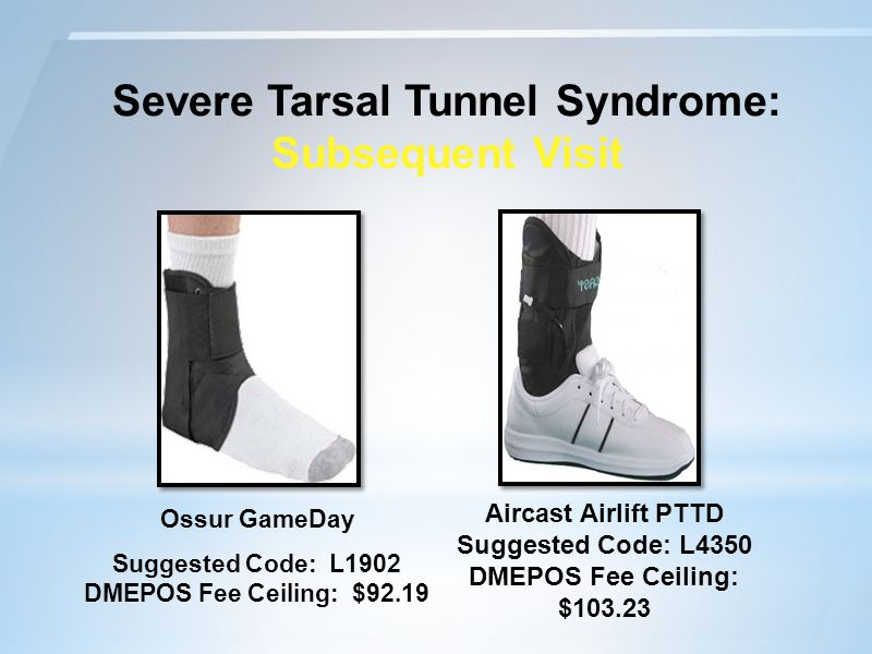 Severe Tarsal Tunnel Syndrome: