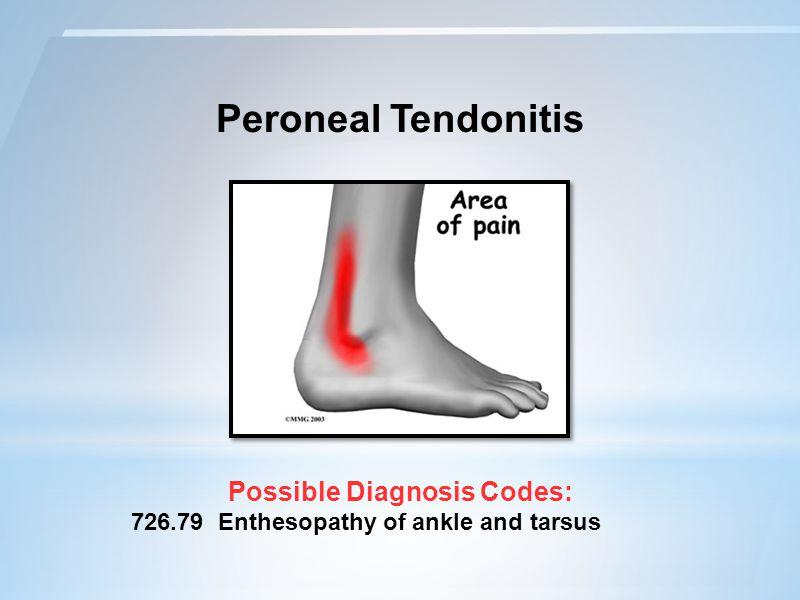 Possible Diagnosis Codes: