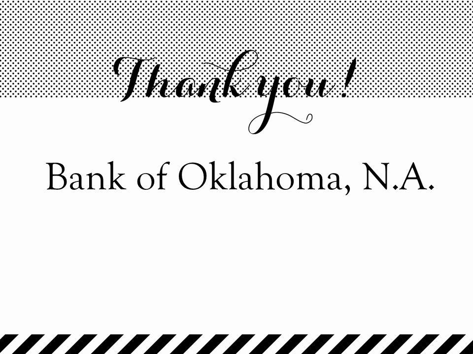 Bank of Oklahoma, N.A.