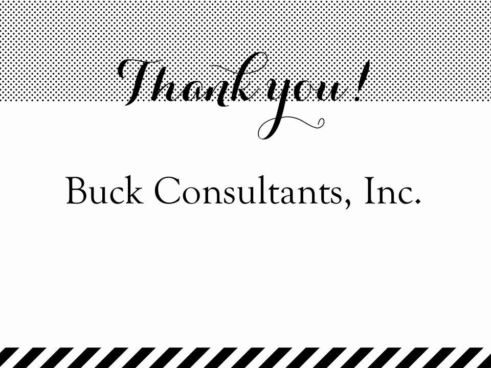 Buck Consultants, Inc.