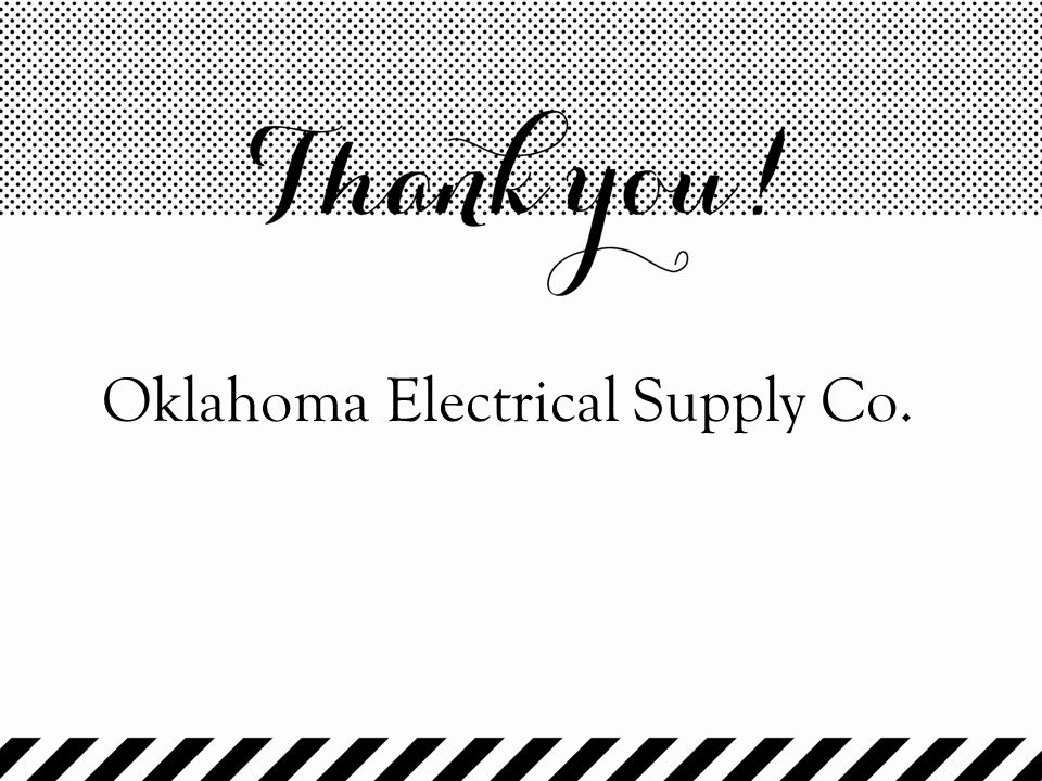 Oklahoma Electrical Supply Co.