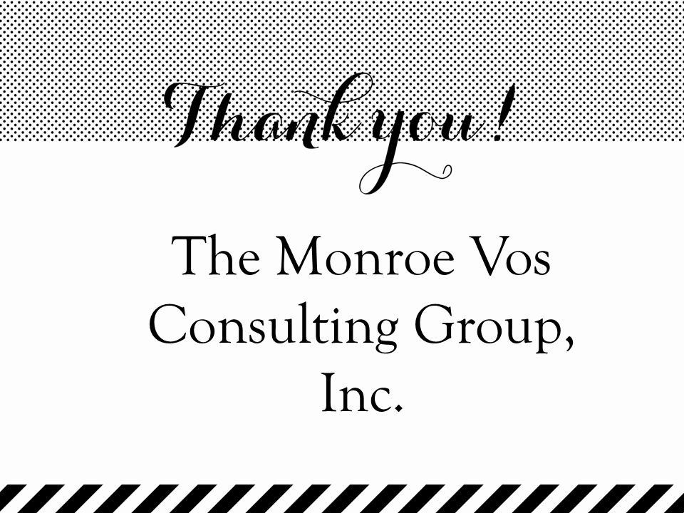 The Monroe Vos Consulting Group, Inc.