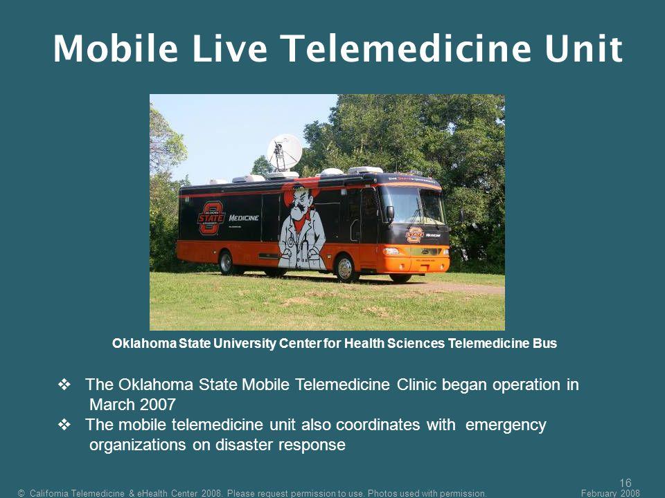 Mobile Live Telemedicine Unit