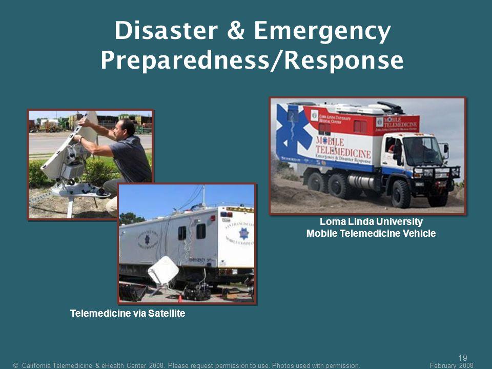 Disaster & Emergency Preparedness/Response