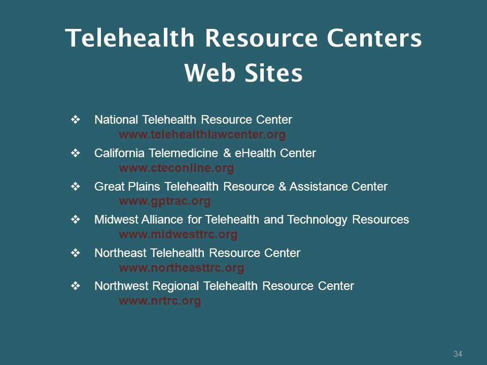 Telehealth Resource Centers