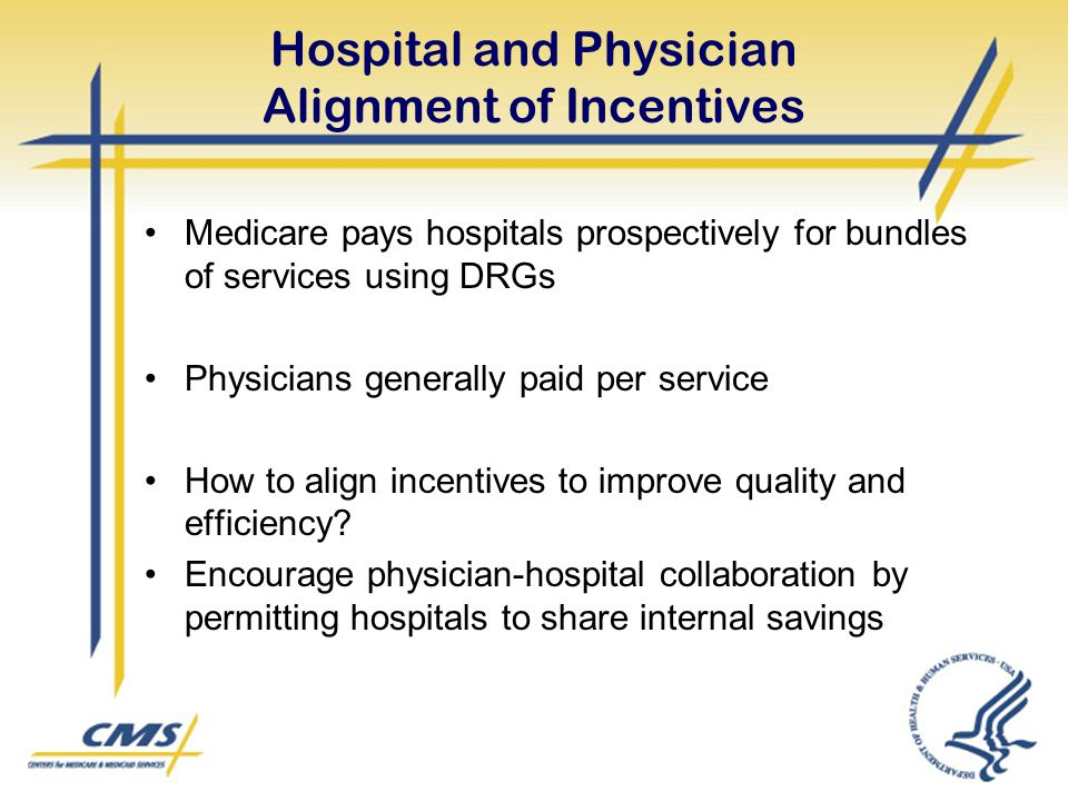 Hospital and Physician Alignment of Incentives