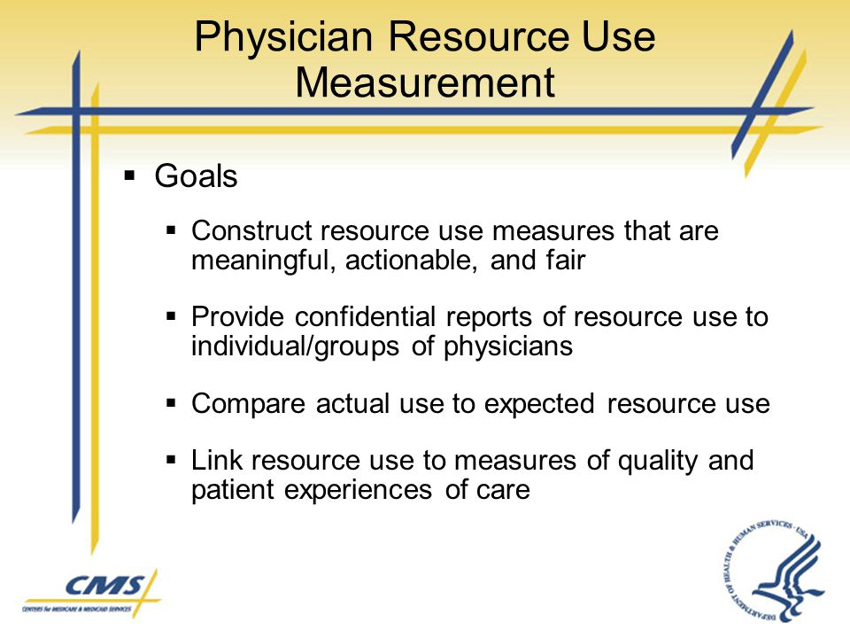 Physician Resource Use Measurement