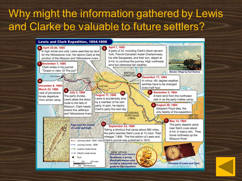 Why might the information gathered by Lewis and Clarke be valuable to future settlers