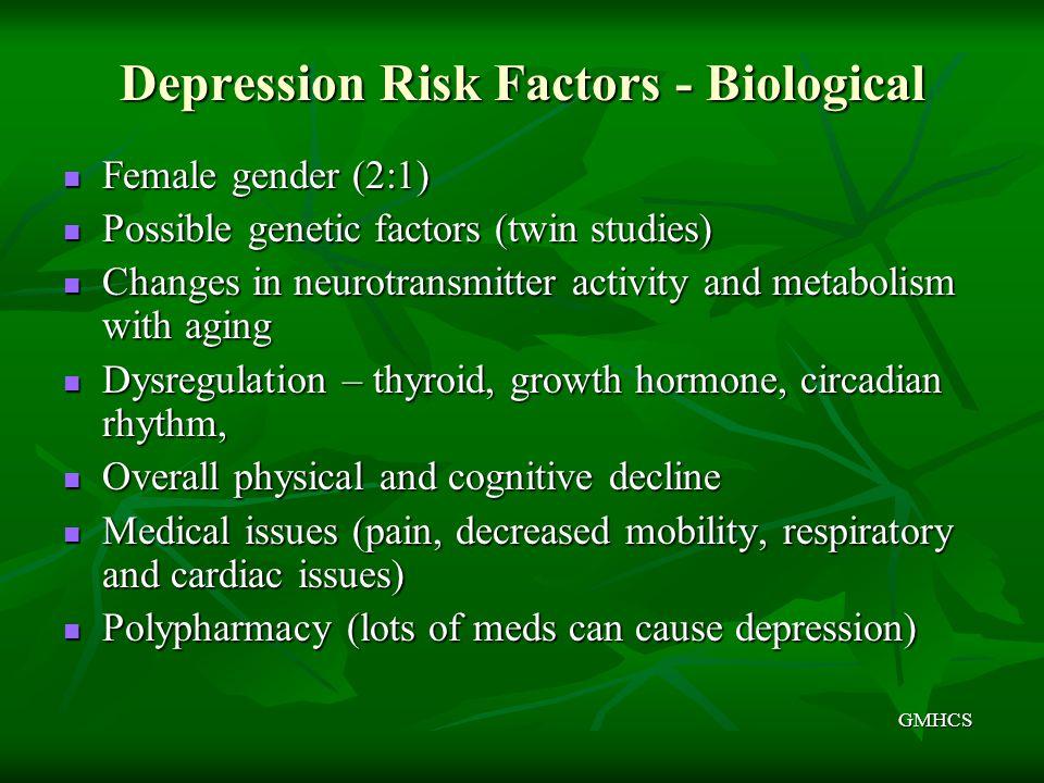 Depression Risk Factors - Biological