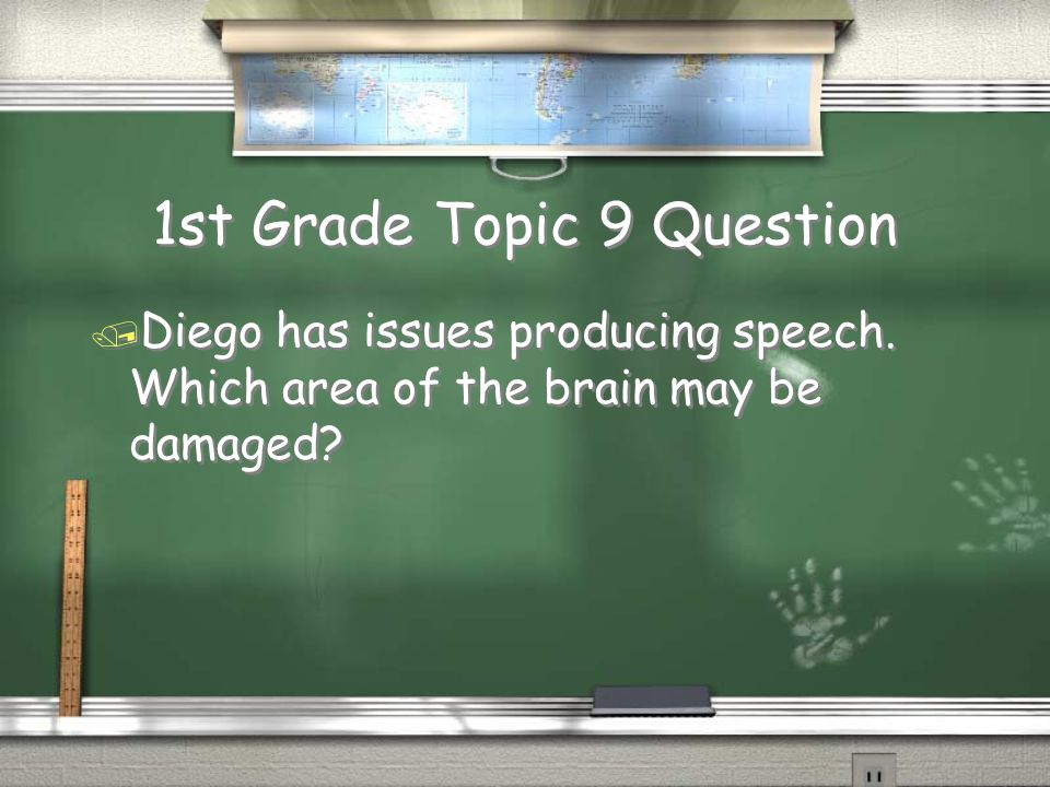 1st Grade Topic 9 Question