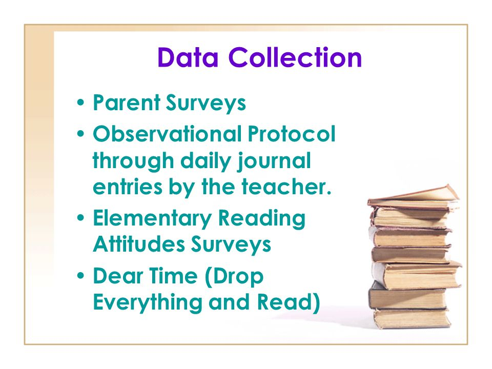 Data Collection Parent Surveys
