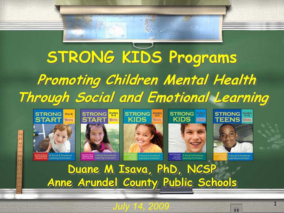 Duane M Isava, PhD, NCSP Anne Arundel County Public Schools