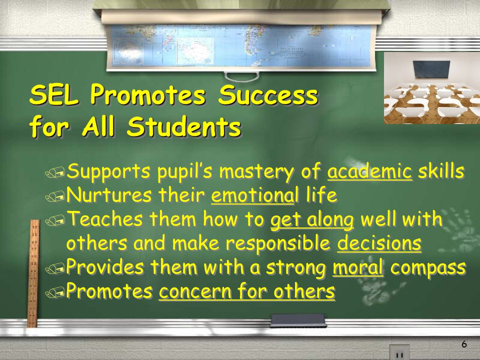 SEL Promotes Success for All Students