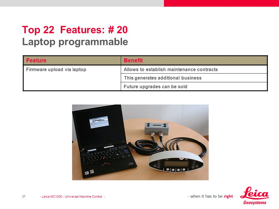 Top 22 Features: # 20 Laptop programmable