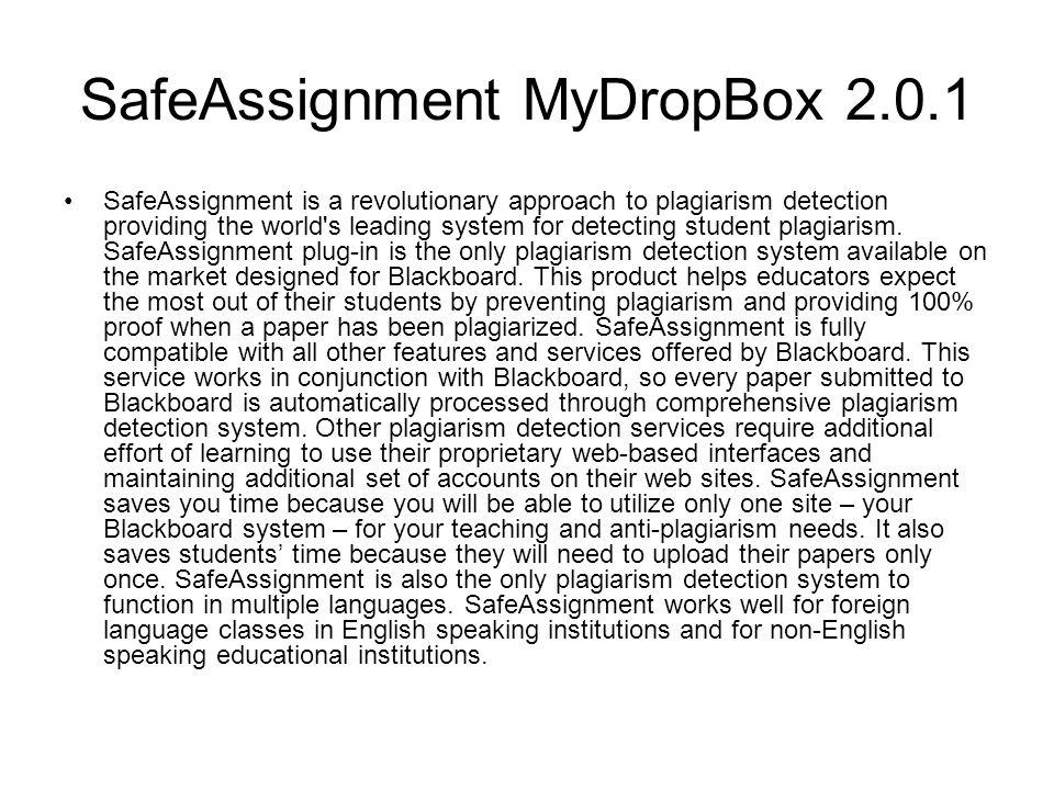 SafeAssignment MyDropBox 2.0.1
