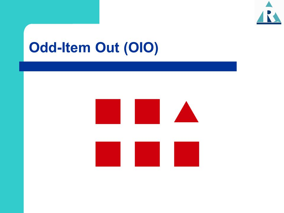 Odd-Item Out (OIO)