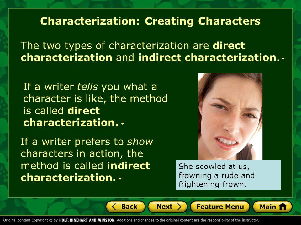 Characterization: Creating Characters