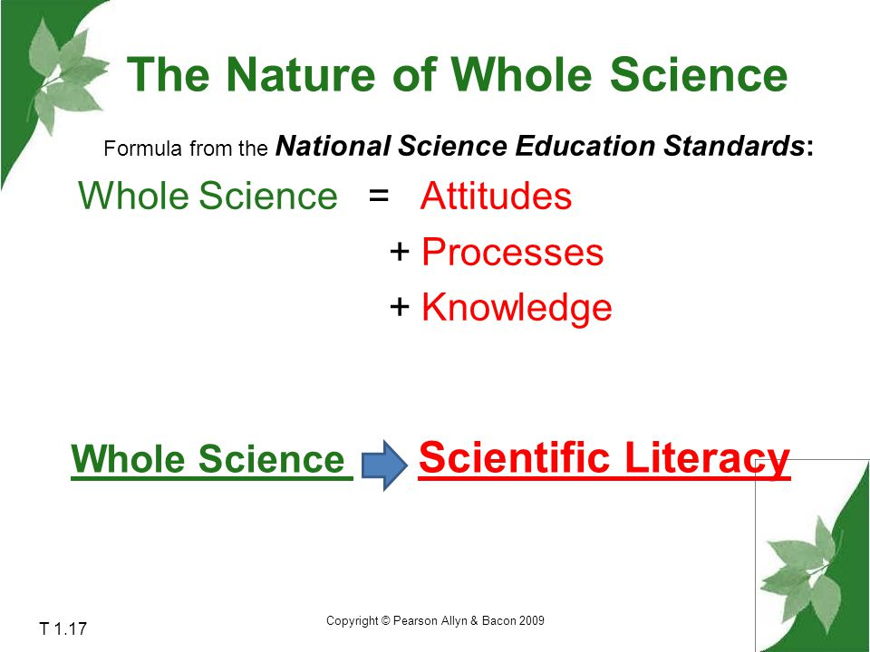 The Nature of Whole Science