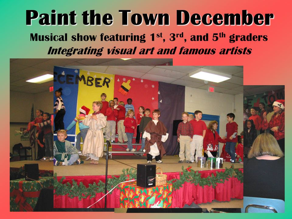 Paint the Town December