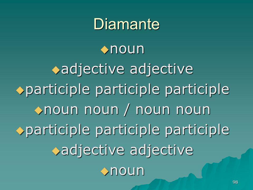 participle participle participle