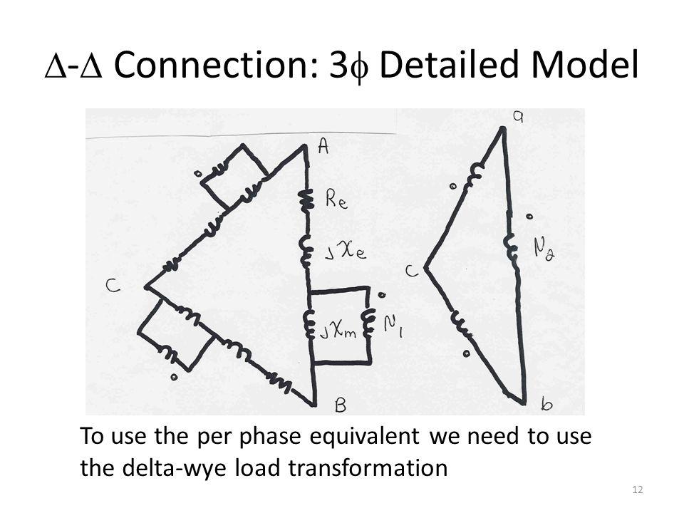 D-D Connection: 3f Detailed Model