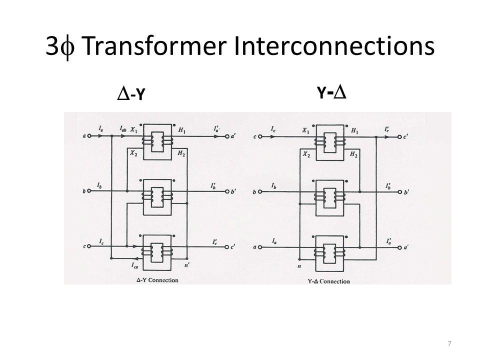 3f Transformer Interconnections