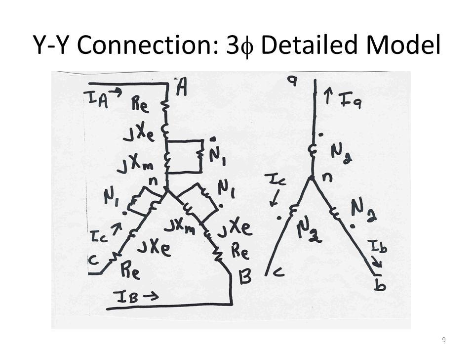 Y-Y Connection: 3f Detailed Model