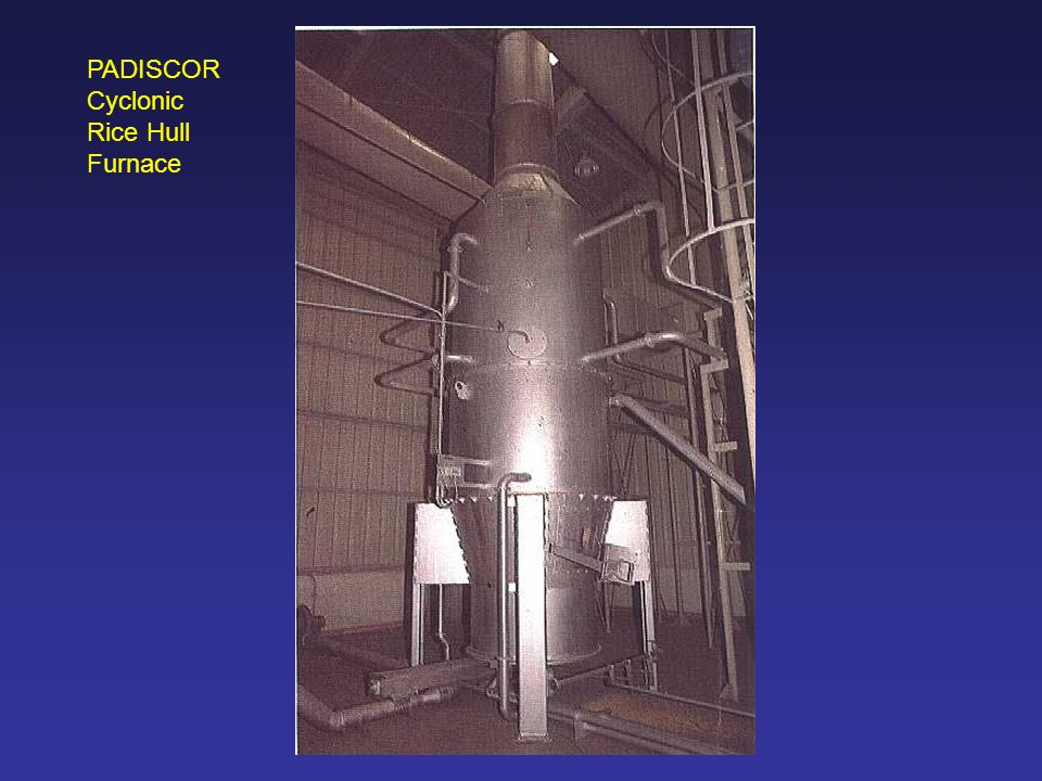 PADISCOR Cyclonic Rice Hull Furnace