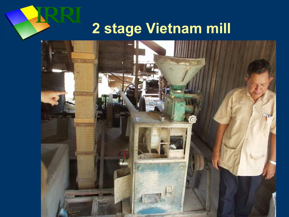 2 stage Vietnam mill
