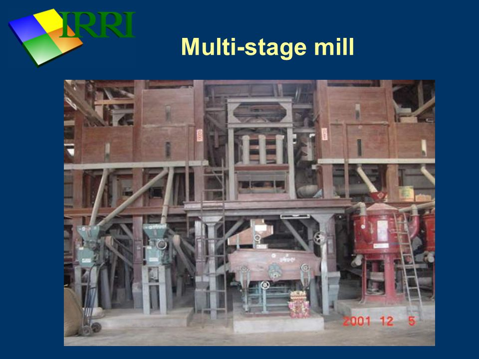 Multi-stage mill