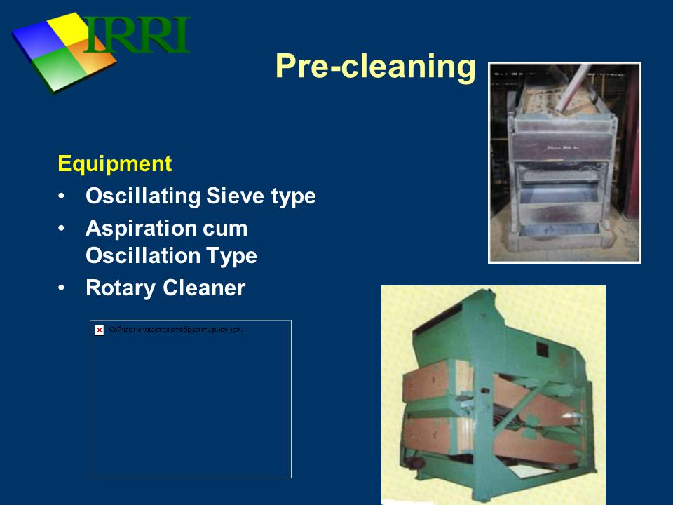 Pre-cleaning Equipment Oscillating Sieve type