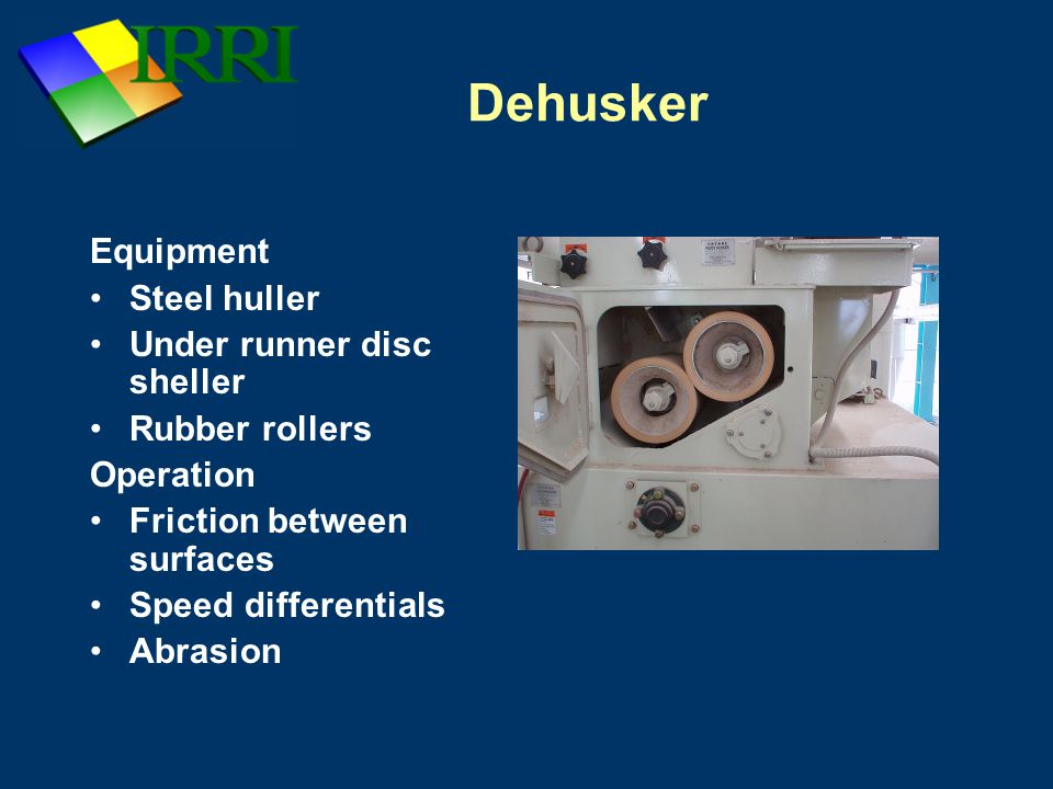 Dehusker Equipment Steel huller Under runner disc sheller
