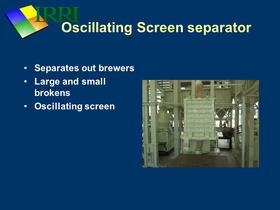 Oscillating Screen separator