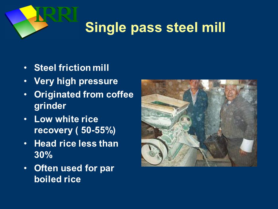 Single pass steel mill Steel friction mill Very high pressure