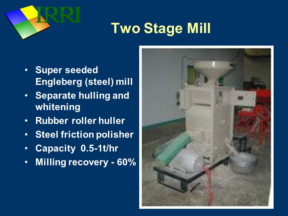 Two Stage Mill Super seeded Engleberg (steel) mill
