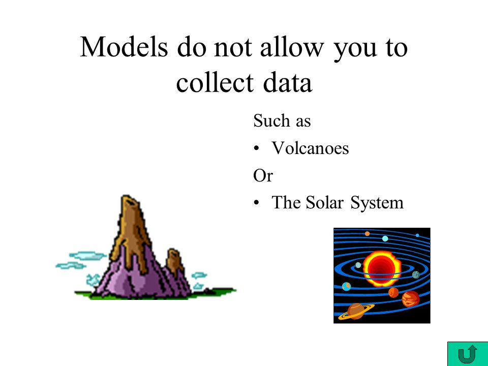 Models do not allow you to collect data