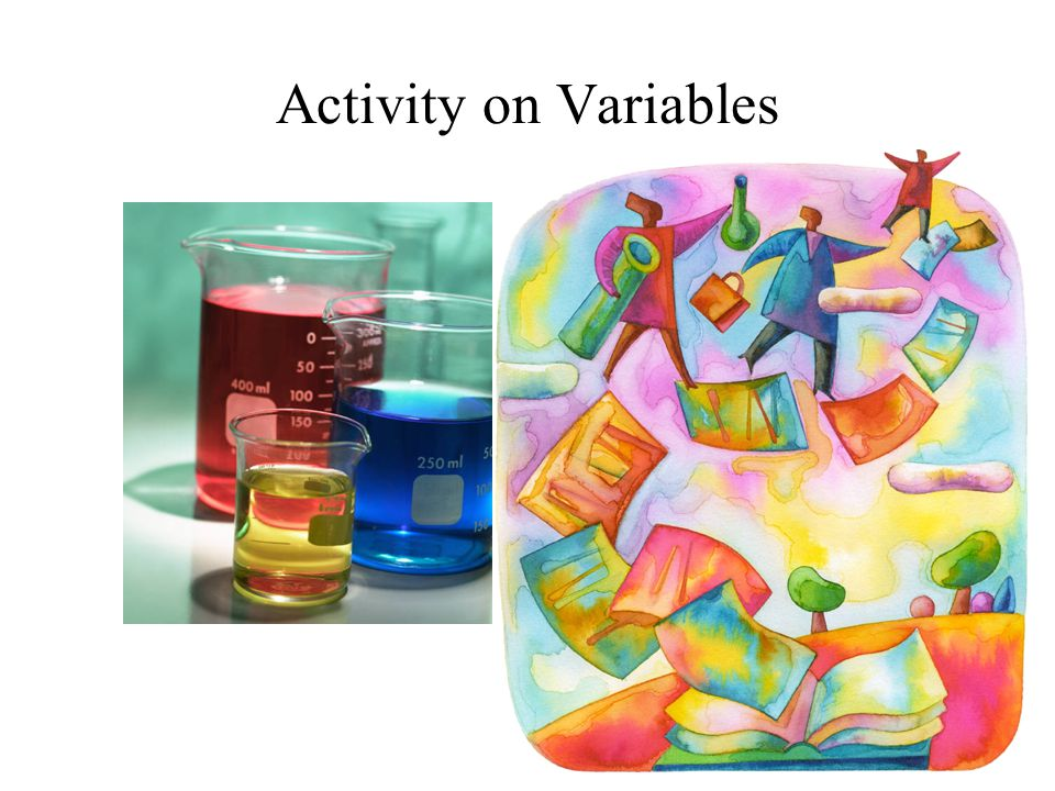 Activity on Variables