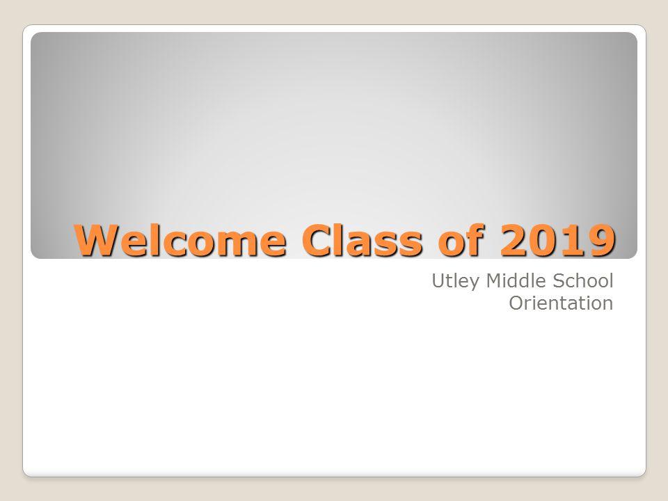 Utley Middle School Orientation