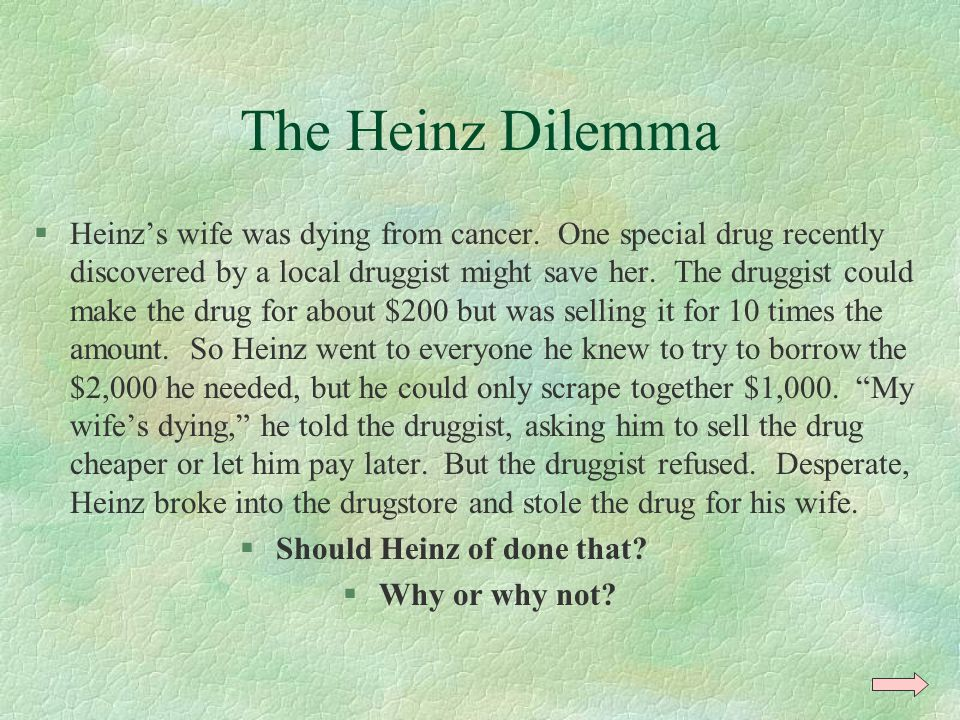 Should Heinz of done that