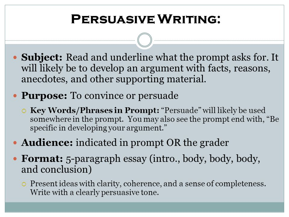 persuasive writing format Definition of persuasive writing persuasive writing is defined as presenting reasons and examples to influence action or thought effective persuasive writing.