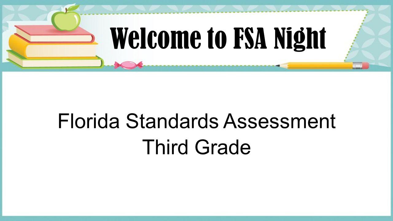 Florida Standards Assessment Third Grade