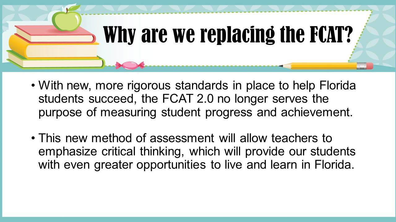 The Florida Comprehensive Assessment Test and state standards: an overview