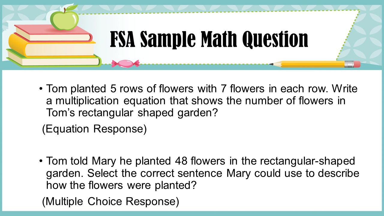 FSA Sample Math Question