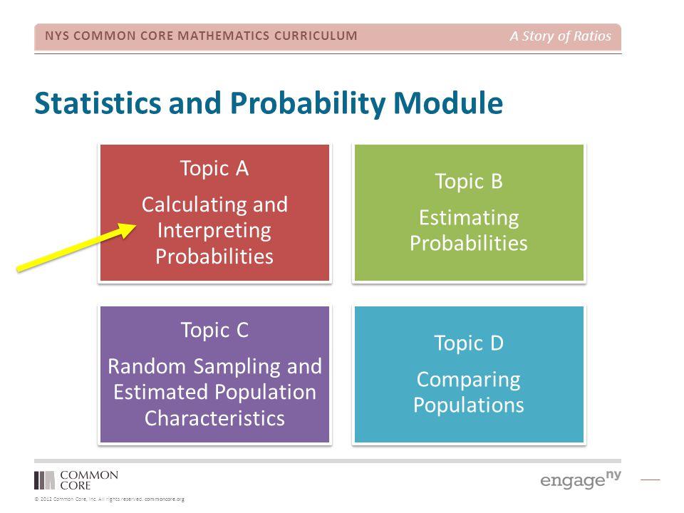 Statistics and Probability Module