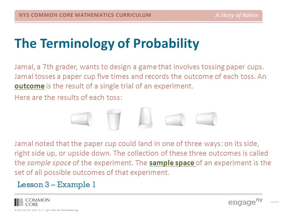 The Terminology of Probability